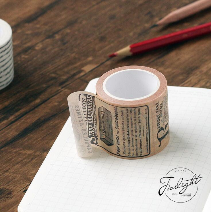 Creative Newspaper Map Gothic Decorative Washi Tape DIY Scrapbooking  Masking Tape School Office Supply In Office Adhesive Tape From Office U0026  School Supplies ...