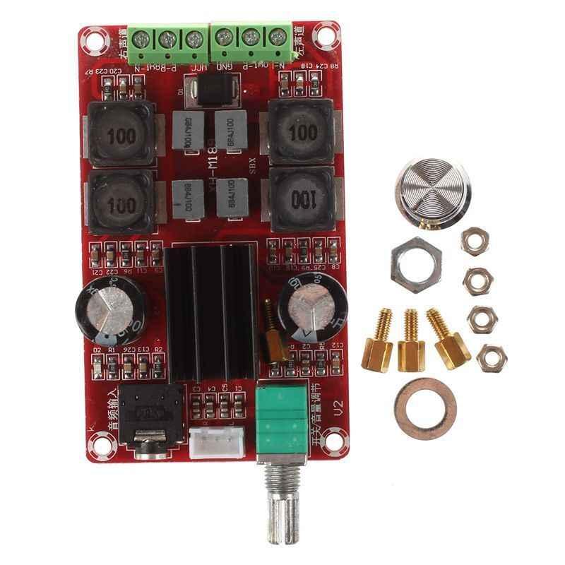 Лучшие предложения XH-M189 2*50 W high-end цифровой усилитель доска DC24V TPA3116D2 двухканальный стерео усилитель доска