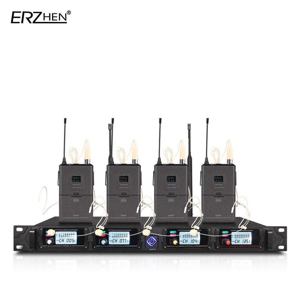 4-kanalni bežični mikrofonski sustav 8000G profesionalni UHF kanali - Prijenosni audio i video - Foto 3