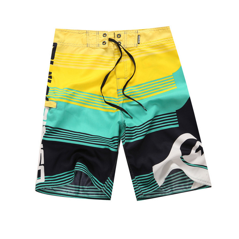 Mens   Board     Shorts   Swimwear Hawaiian Swim Trunks Quick Dry Sportwear Summer Holiday Surf Beach Bathing Suits   Shorts