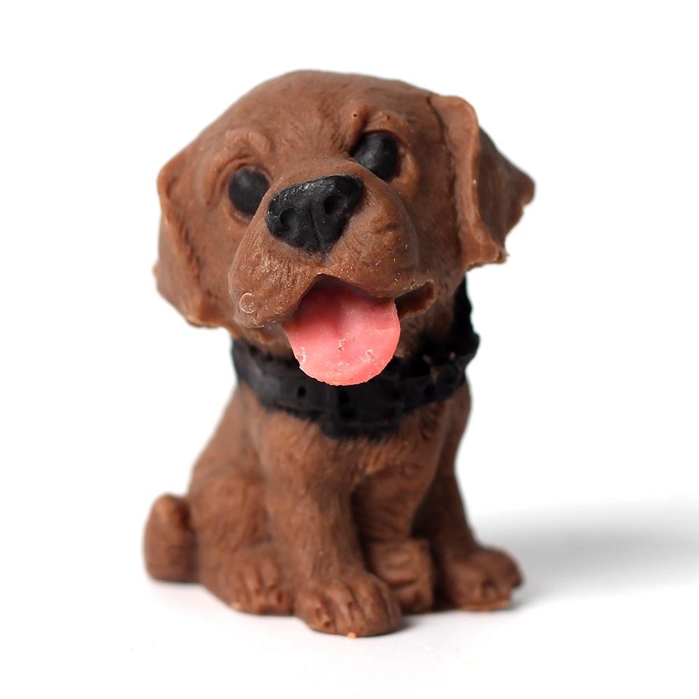 Nicole silikon Sabun Acuan Mini 3D Bentuk Anjing Lovely untuk Sabun - Dapur, makan dan bar - Foto 4