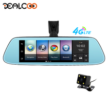 Dealcoo 8″ 4G Newest Mirror Car DVR Camera Android 5.1 with GPS DVRs Automobile Video Recorder Rearview Mirror Camera Dash Cam