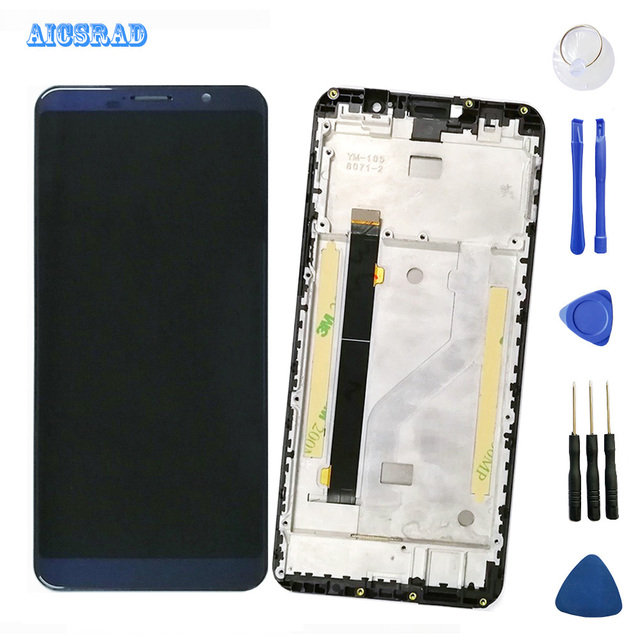 5.99inches For cubot power LCD Display and Touch Screen with frame For cubot power Phone Accessories Tested