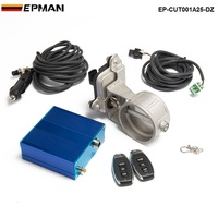 2 5 63mm Vacuum Exhaust Cutout Electric Control Valve Kit With Vacuum Pump EP CUT001A25 DZ