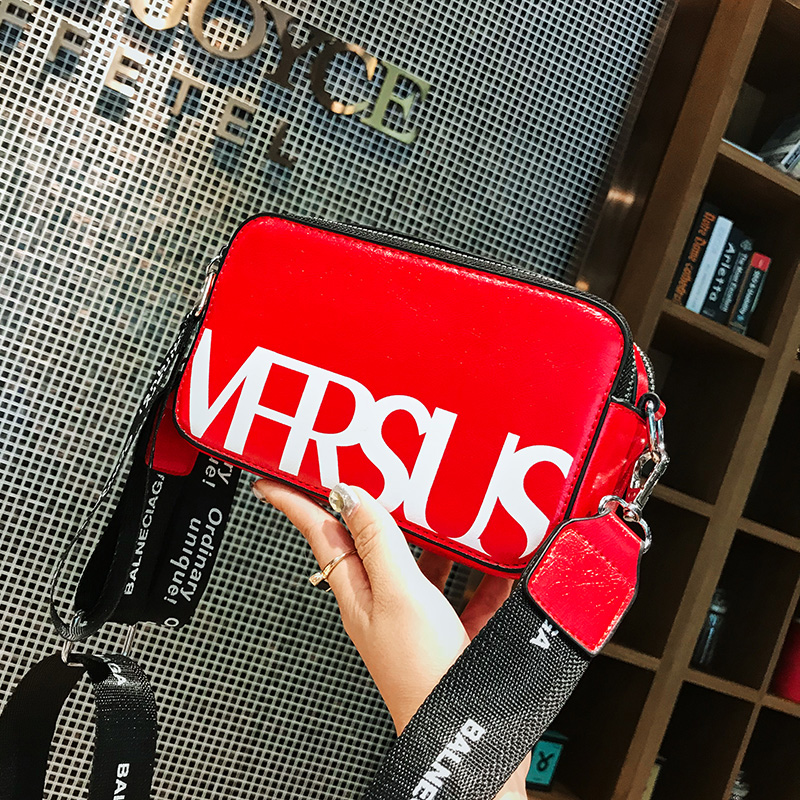 Bags For Women 2019 Leather Bag New Shoulder Fashion Small Crossbody Bags For Women Handbag Women's Bag 2019 Red Crossbody Hand