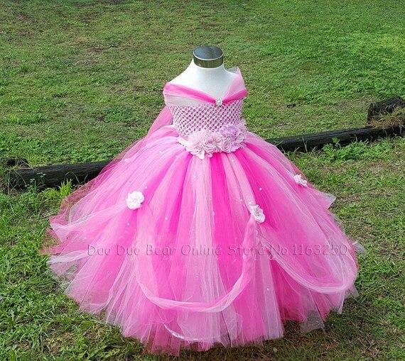 Desfile De Moda Vestido De Princesa Tutu Niños Vestidos Para