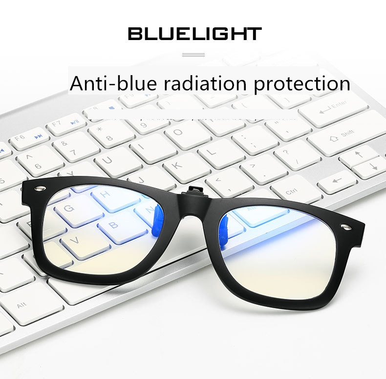 Anti Blue Ray Clip On Glasses Men Women Computer Goggles Game Glasses Anti-Blue Light Ra ...