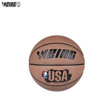 WEING Indoor Outdoor PU Cowhid Basketball III Indoor Size7 Non slip Balls Wear resistant Basket Ball Training Equipment basquete