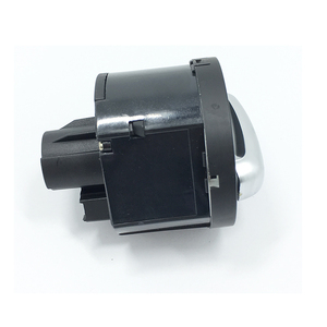 Image 4 - Interruptor de faro delantero cromado, para Golf Jetta MK5 MK6 GTI Passat B6 B7 CC Touran Tiguan, perilla de faro delantero antiniebla, 5ND 941 431 B