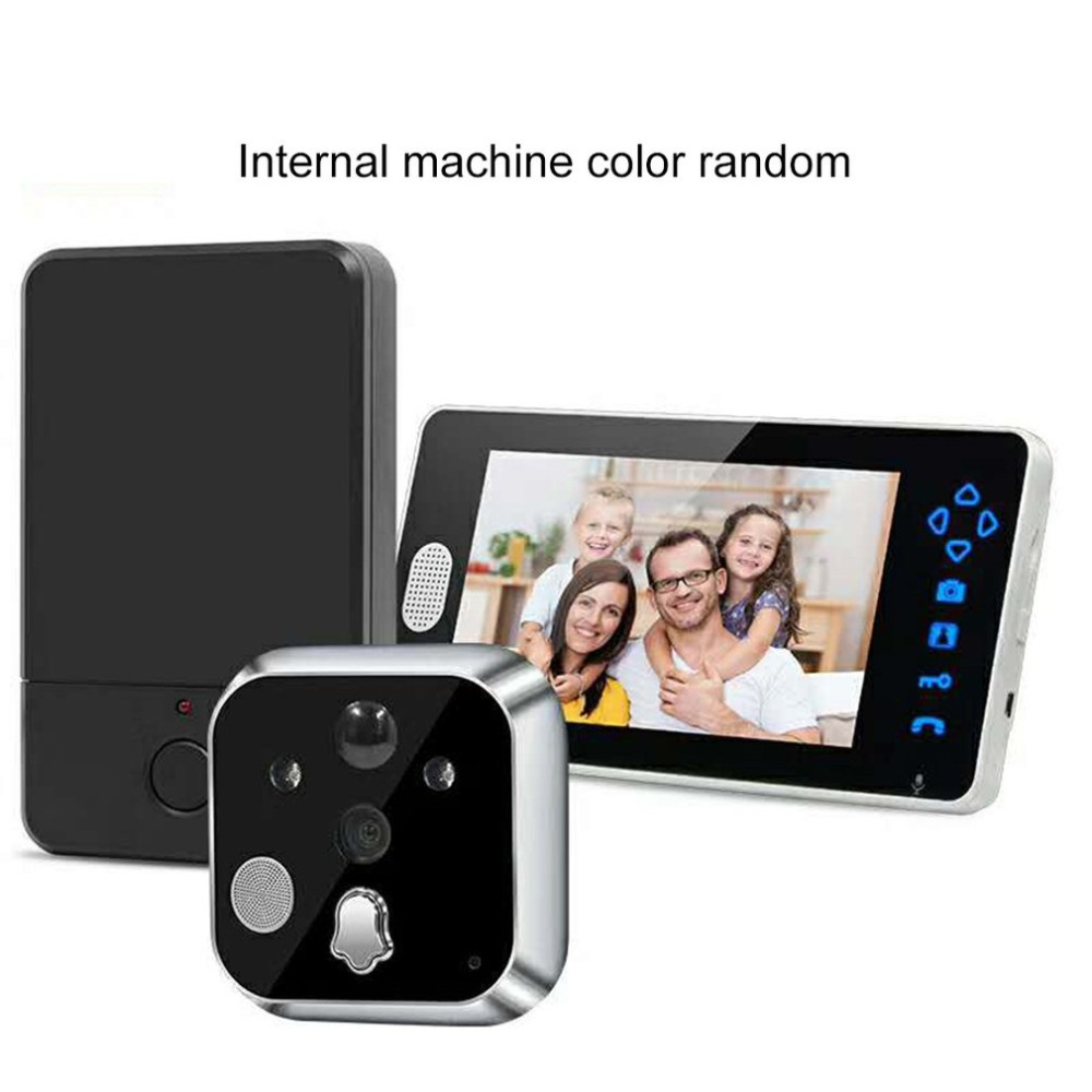 TL-E700A 7 inch Wireless Video Doorbell Phone Intercom System Digital Camera 0.3 MP 120 degree Home Security MonitorTL-E700A 7 inch Wireless Video Doorbell Phone Intercom System Digital Camera 0.3 MP 120 degree Home Security Monitor