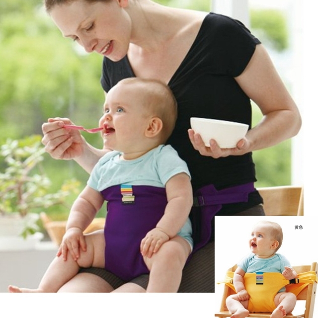 Portable Baby Chair Seat Belt Mother Waist Belt for Feeding Toddler Kid Dinning Chair Safety Cover Baby Carrier bebe seguridad