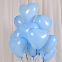 heart baloons 50pcs/lot 10inch ballons valentines day wedding anniversaire decorations birthday party eid mubarak