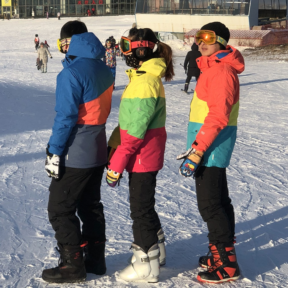 Snowboard Dos Homens & Das Mulheres Engrossar