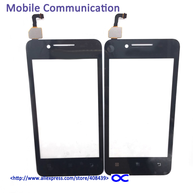 5pcs Highscreen A319 Touch screen Digitizer For Lenovo A319 Glass Panel with Logo