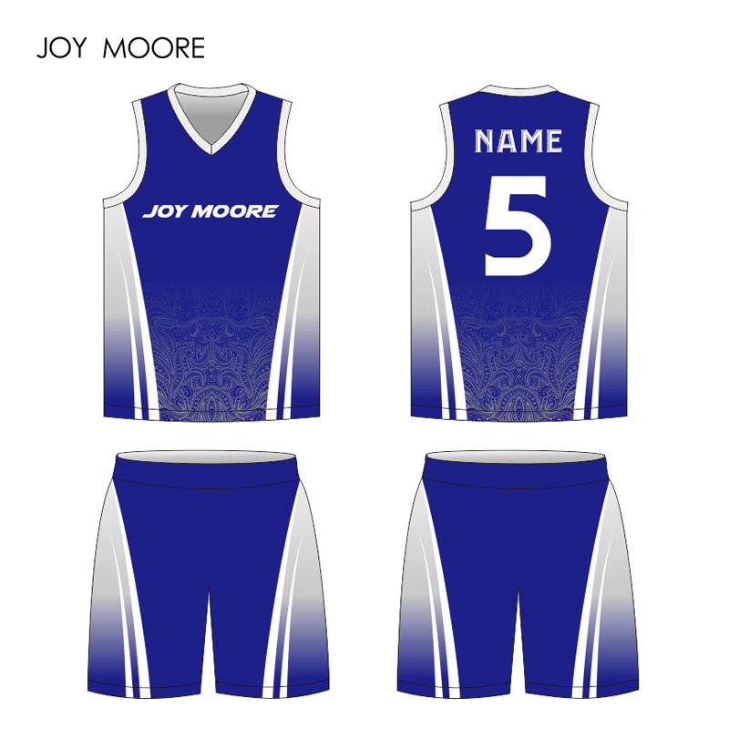 da156b017 Men kid high quality custom bule basketball jersey full sublimated DIY hot  sale-in Basketball Jerseys from Sports   Entertainment on Aliexpress.com ...