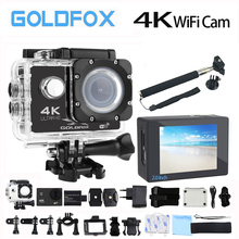 Goldfox F60/F60R Wifi Action Kamera Ultra HD 4 Karat 30fps 170D Sport Videokamera 30 Mt Gehen Wasserdicht Pro Fahrradhelm Action Kamera