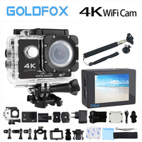 GOLDFOX F60 F60R Original Action Camera 4K 30FPS 1080P 60FPS 16MP WiFi 170D Helmet Cam 30M