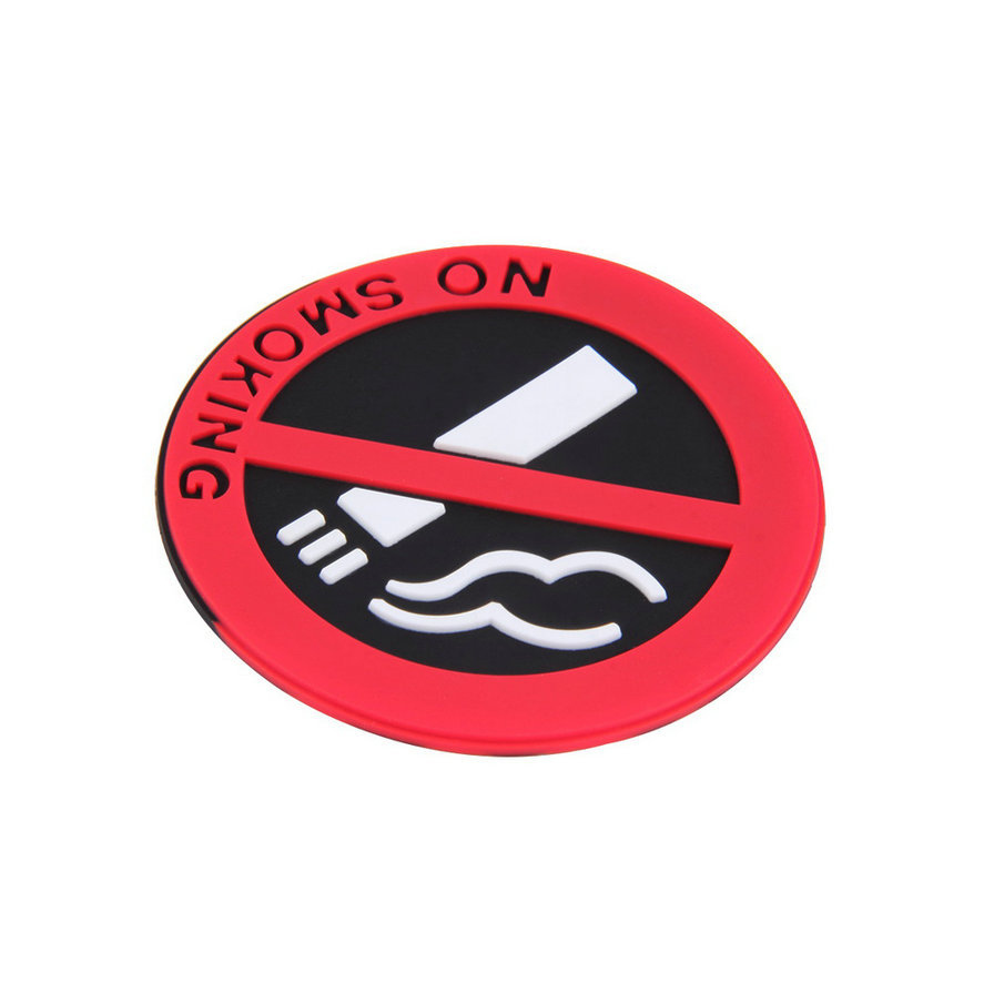 3pc Rubber NO SMOKING Sign Tips Warning Logo Stickers Car Taxi Door Decal Badge Glue Sticker Promotion-in Car Stickers from Automobiles u0026 Motorcycles on ...  sc 1 st  AliExpress.com & 3pc Rubber NO SMOKING Sign Tips Warning Logo Stickers Car Taxi Door ...