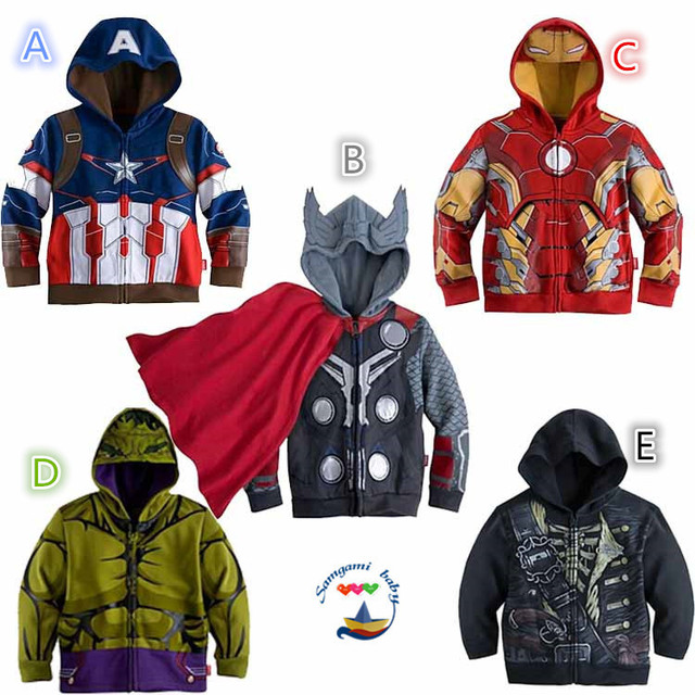 Avengers Children Hoodies Sweatshirt