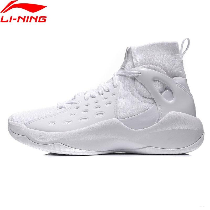 Li-Ning 2018 Men Sonic VI Professional Basketball Shoes Mono Yarn Cushion Li Ning TPU Wearable Sport Shoes Sneakers ABAN021 li ning men s professional basketball shoes speed