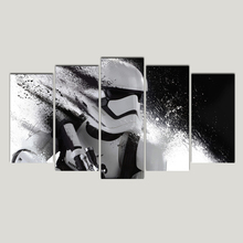 Star-Wars Poster HD Prints Modern Wall Art Canvas For Living Room 5 Pieces Pictures Decor Painting Free Shipping Abooly