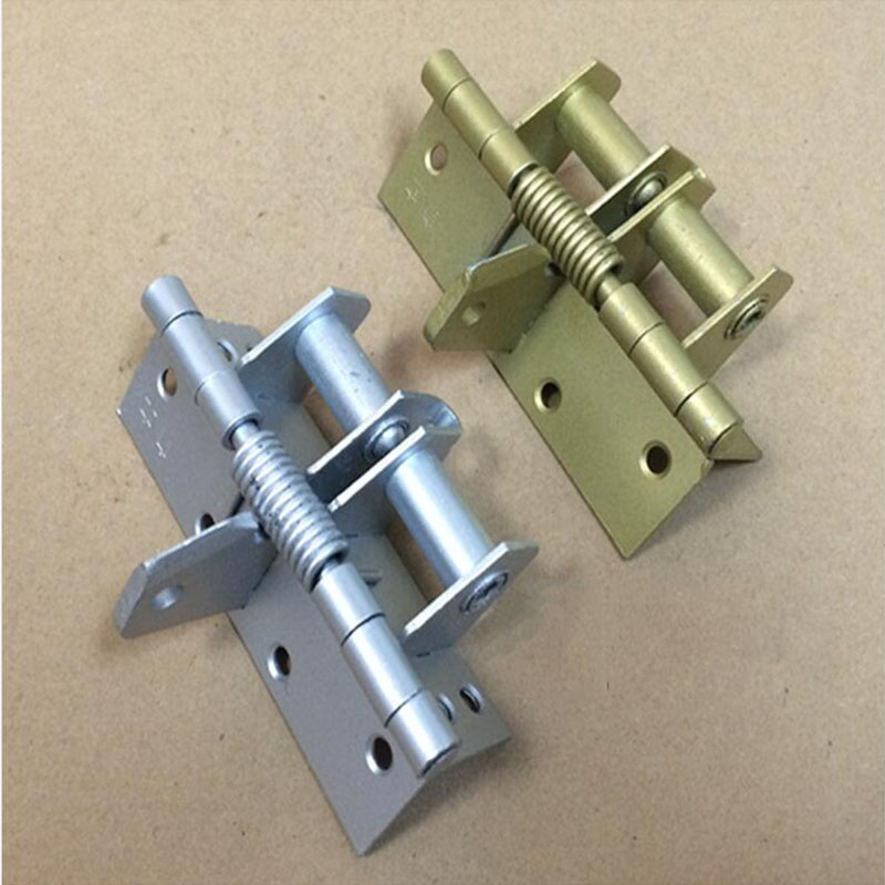 4 inch spring hinge automatic closing hinges 90 degree positioning closet stealth door hinge x6 1 pair viborg sus304 stainless steel heavy duty self closing invisible spring closer door hinge invisible hinges jv4 gs58b