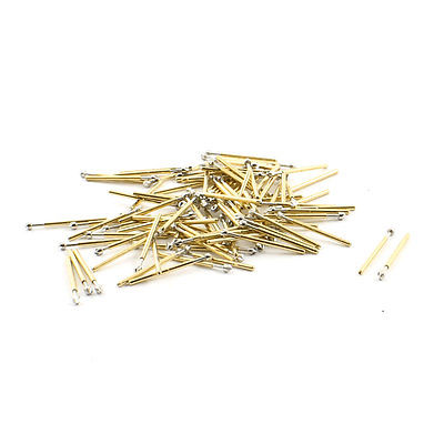100pcs P75-LM2 1.5mm Diameter Tip Spring Loaded Test Contact Probes Pin 17mm  цены