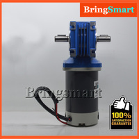 5D60 RV40 12 Volt DC Worm Geared Motor Single/Double Shaft 24V RV40 Speed Regulation Motor Reversible Motor Self locking