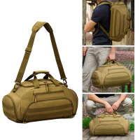 35L Gym Bag Backpack Rucksack Tactical Military Molle Army Bags Waterproof Sports Camping 14'' Laptop Camera Men Mochila XA335WA