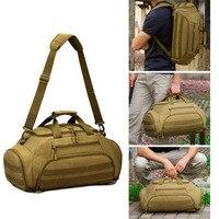 35L Gym Bag Backpack Rucksack Tactical Military Molle Army Bags Waterproof Sports Camping 14'' Laptop Camera Men Mochila XA335WA