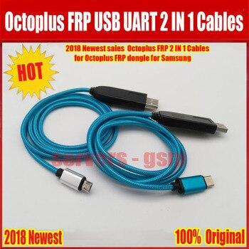 2018 más reciente octoplus FRP USB UART 2 en 1 cable (micro + tipo C) EFT cable UART para octoplus FRP dongle, eft dongle para Samsung
