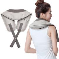 Electrical Shiatsu Neck Shoulder Body Massager Back massage belt Beating electric cervical massager Kneading Car/Home Massagem