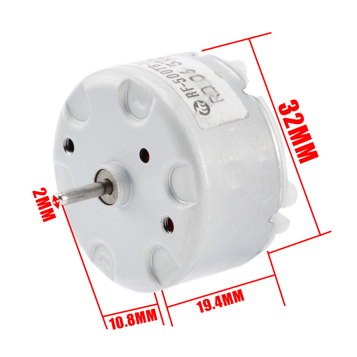 1PCS DC5V 80RPM L-Shaped 020 Gear Motor with Plastic Gearbox For DIY Toy Model