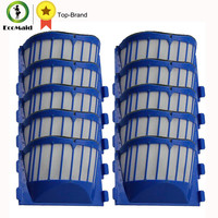 10 Pack Blue Aero Vac Filters For IRobot Roomba 500 600 Series Replacement AeroVac Filter Replacements