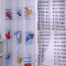 100cm x 200cm Car Printed Drape Panel Sheer Scarf Valance Voile Door Room Window Curtains Z
