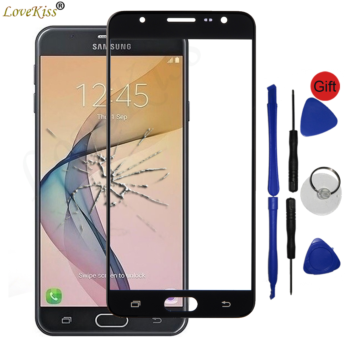 J7Prime G610F Front Panel For <font><b>Samsung</b></font> <font><b>Galaxy</b></font> <font><b>J7</b></font> Prime 2 J7Prime <font><b>2018</b></font> G611F Touch Screen Sensor LCD <font><b>Display</b></font> Digitizer Glass Cover image