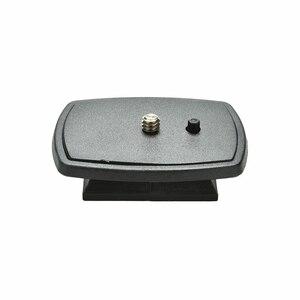 Image 2 - سريعة الإصدار ترايبود Monopod مسمار لولبي الرأس محول جبل ل VCT D680RM D580RM R640 Velbon PH 249Q عموم رئيس