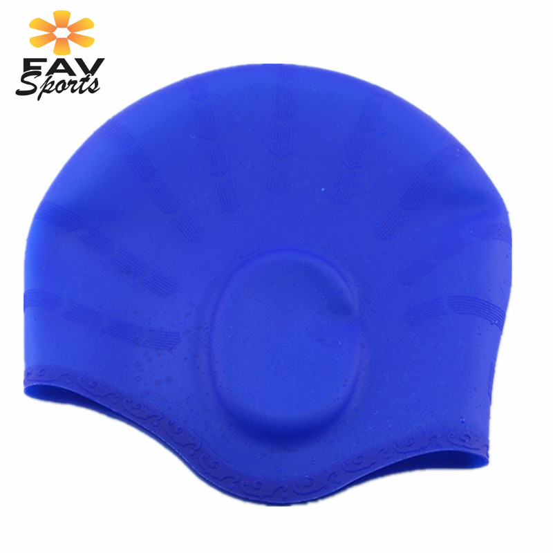Outdoor Sports Swimming Cap Elastic Waterproof Long Hair Cover Ears Protect Anti-slip Swim Pool Hat for Bonnet De Bain Femme Islamabad