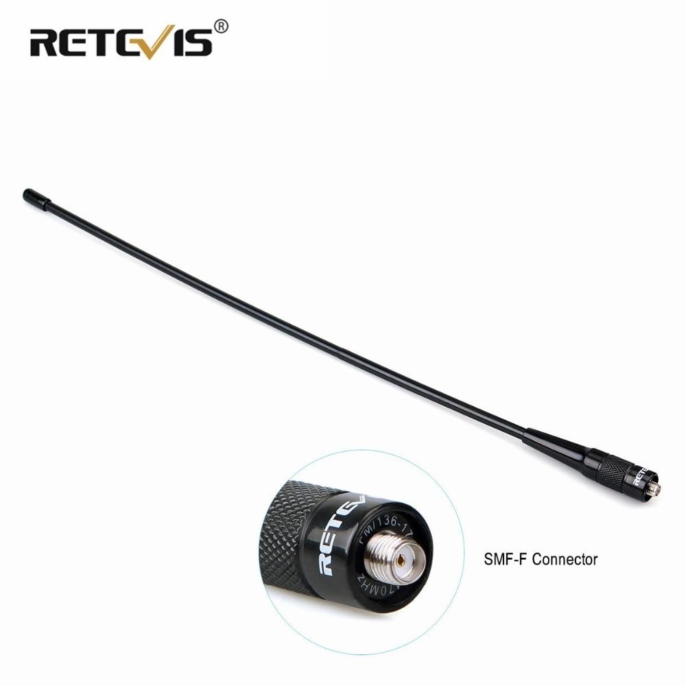 High Gain Retevis RHD-771 SMA-F Walkie Talkie Antenna VHF UHF Dual Band For Kenwood For Baofeng UV-5R UV-82 Bf-888S H-777 Radio