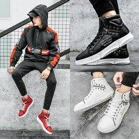 2018 New Forceing Men's Skateboard Shoes Air High Sport AF1 Male Tennis One Bape Brand Sneakers GYM Disruptor Krasovki