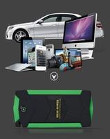 Durable 6L Benzin 4L Diesel Auto Starthilfe 1000A Spitzen 80000 mah Auto Batterie Power Bank 12 v Auto Tragbare 4USB LCD Sreen