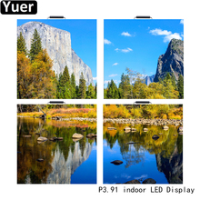 4Pcs/Lot Full Color HD Indoor LED Display P3.91 128x128 Screen Resolution LED Video Wall Advertisement Panel LED Video Display