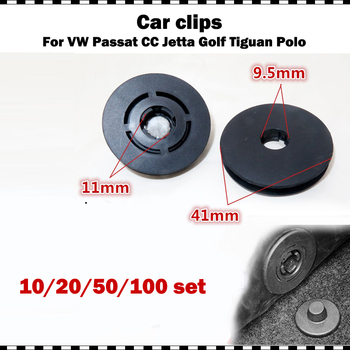 Car Floor Mat Clips Carpet Fixing Clamp Fastener For VW Golf Polo 9n Passat B7 For Audi a3 a4 a5 a6 a7 For Skoda Octavia Superb image