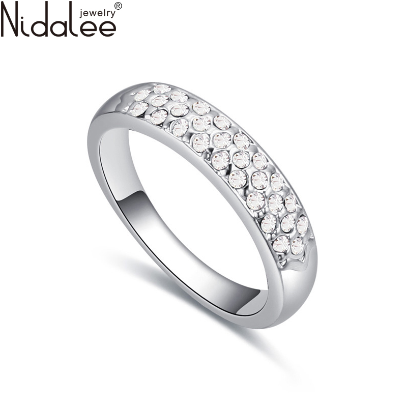 Nidalee 2016 Luxury Round Rings Fashion s
