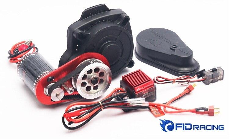 Démarreur électrique à télécommande FID avec nouveau moteur pour Losi 5ive-T compatible Baja 5B 5 T SS
