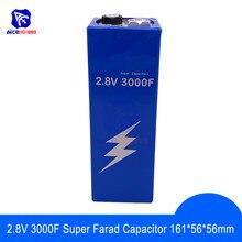 Super Condensatore Farad 2.8V 3000F 161*56*56mm Low ESR Ad Alta Frequenza Super Condensatore 2.8V3000F per auto Auto di Potenza di Alimentazione