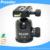 Profissional Tripé de Câmera Bola cabeça ballhead 44 mmDSLR tripood cabeça com Placa de Liberação Rápida 360 Ângulo de Rotação Panorâmica 1/4''