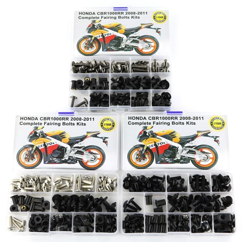 Для Ducati 748 916 996 998 аксессуары для мотоциклов Полный Обтекатель Болты комплект с OEM стиль шайба крепежные зажимы гайки винты сталь