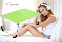 SUFEILE Fashion Portable Folding Laptop Table Picnic Folding Table Laptop Desk Stand Computer Notebook Bed Tray