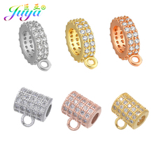 Juya DIY Beading Jewelry Components Supplies 1 Hole Metal Separator Hanger Bails For  Natural Stones Beadwork Jewelry Making